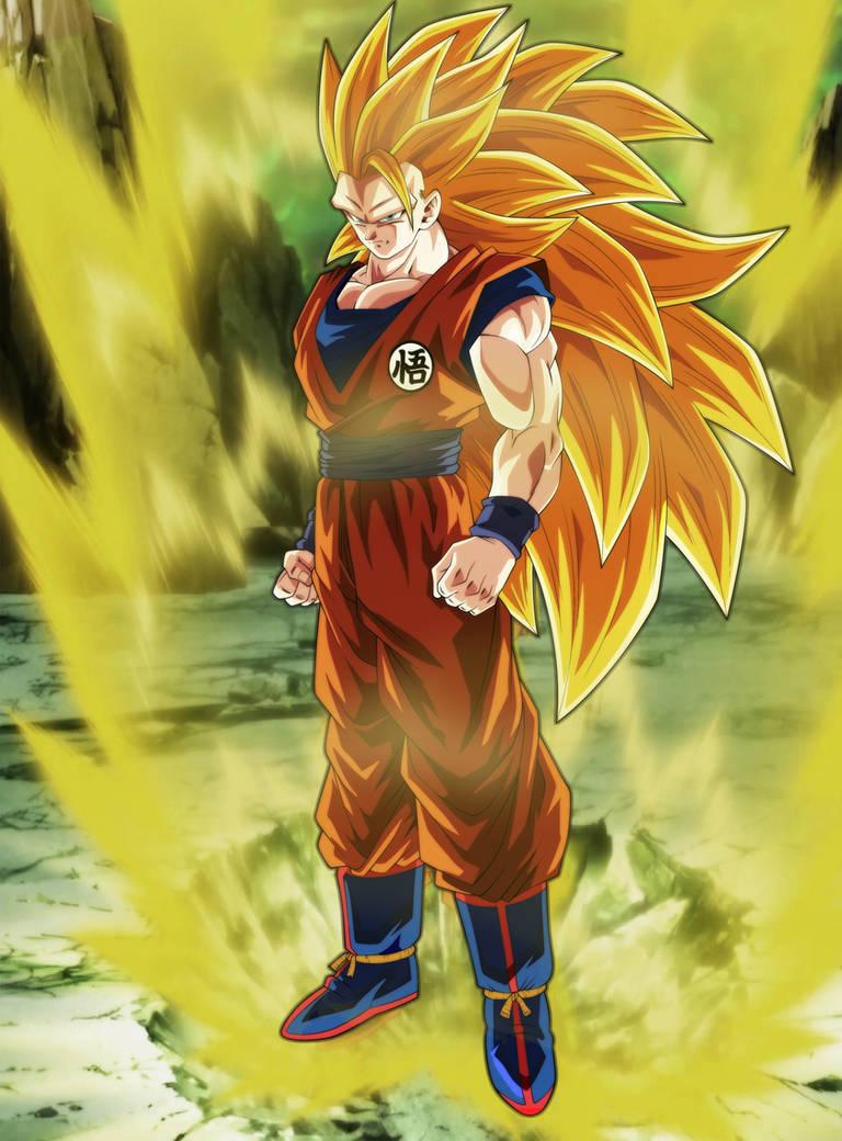 Goku Ssj3 by Andrewdb13 on DeviantArt