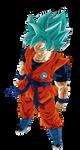 Goku Heroes Ssj Blue