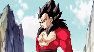 Vegeta Xeno Ssj4 Dragon Ball Heroes by Andrewdb13