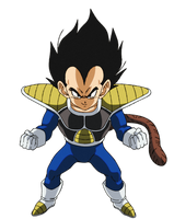 Kid Vegeta Dragon Ball Super Broly by Andrewdb13