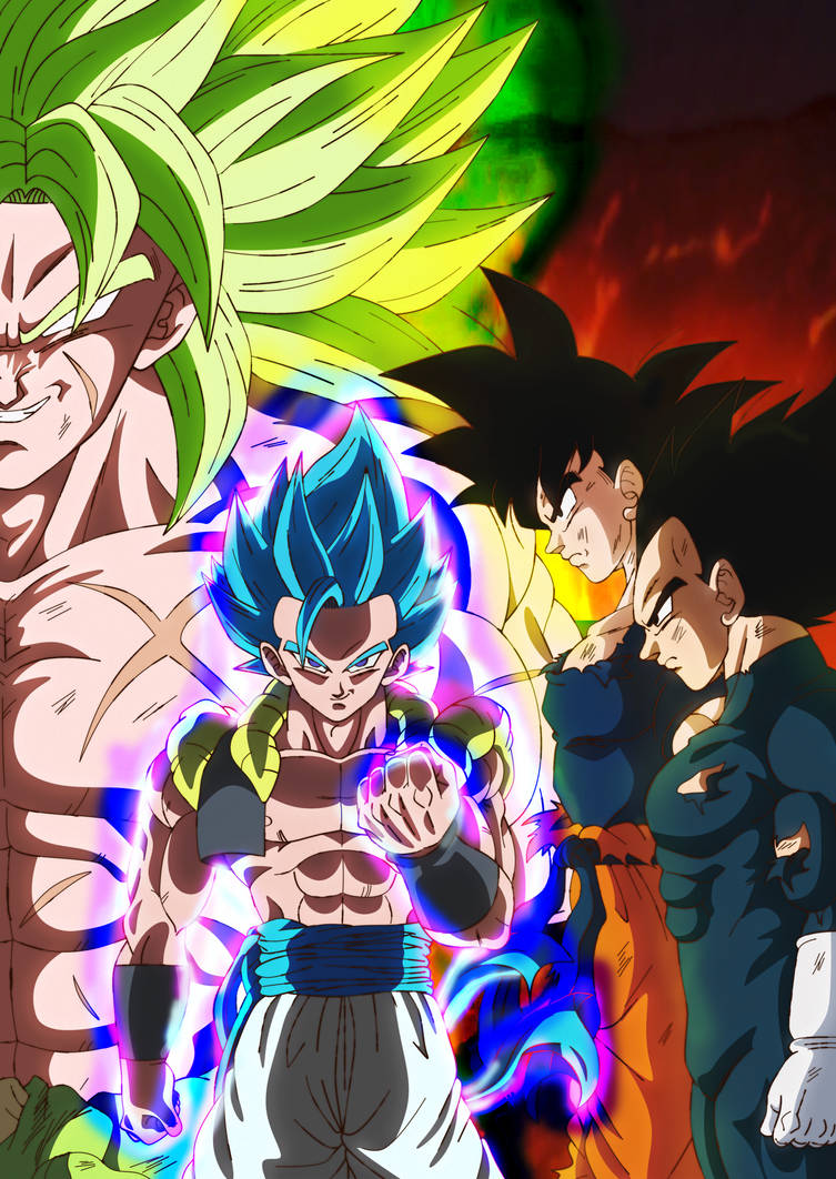 Dragon Ball Super Broly Poster By Andrewdb13 On Deviantart