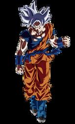 Goku Heroes Ultra Instinct by Andrewdb13