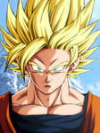 Goku Ssj2 Dragon Ball Super Broly