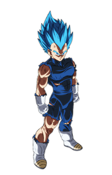 Vegeta Ssj Blue by Andrewdb13