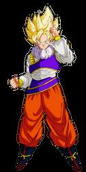 Goku Ssj Yardrat by Andrewdb13