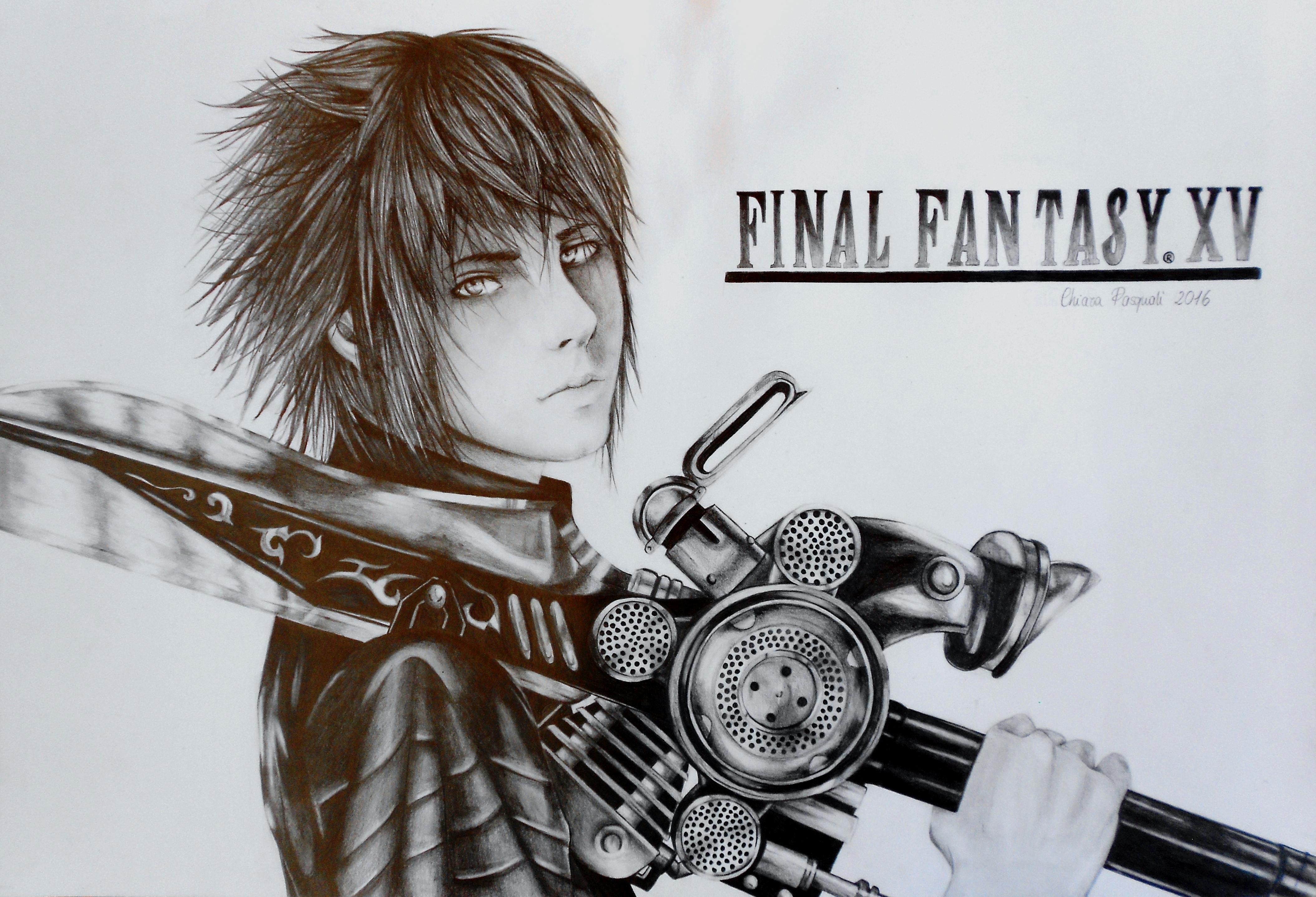 My Prince Noctis Lucis Caelum - Final Fantasy XV by ElectroChiara