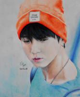 Jungkook's portrait by ElectroChiara