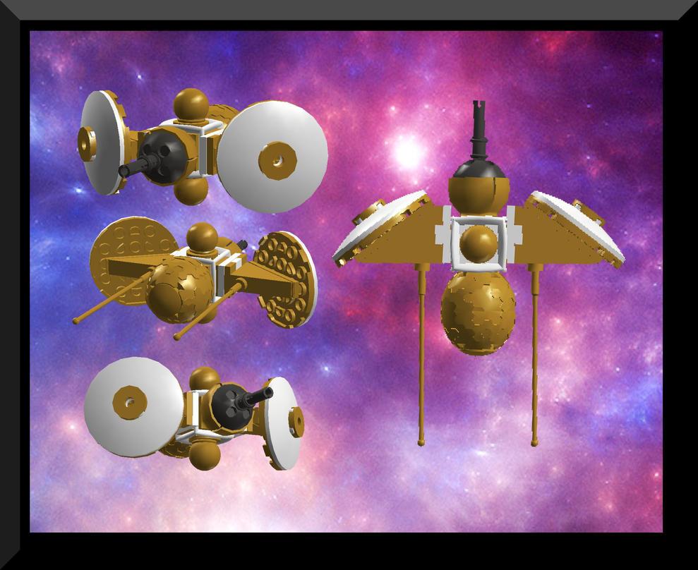 Orbital Defense Satellite by Drake-Wyvern