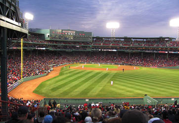Fenway Park 2010 by Rhododendron