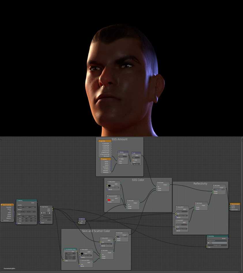 how to make a human in blender