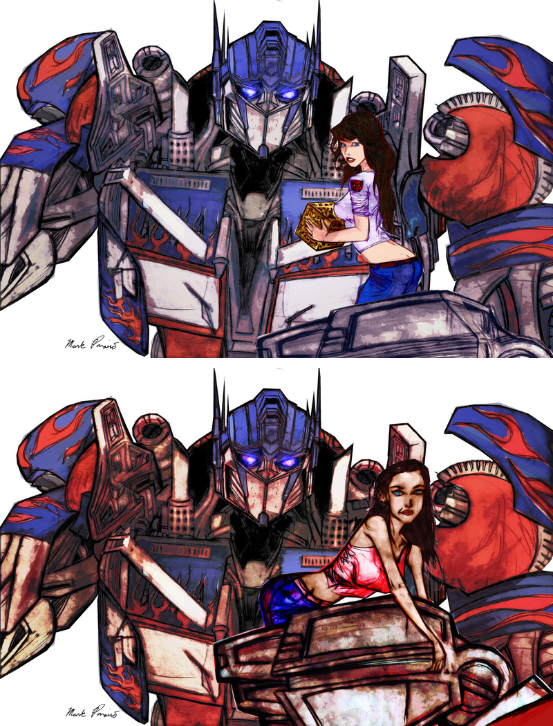 MikealaMegan_fox_and_Prime_by_southpawdr