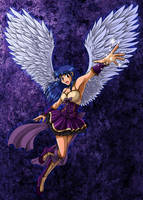 Wings and sparkles by cowgirlem