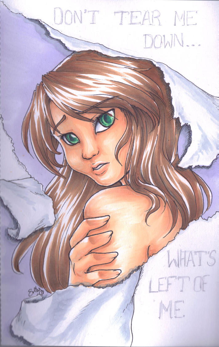 What's left of me - Markers by cowgirlem