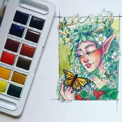 Mini Watercolours