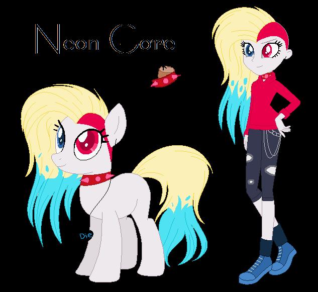 l + Neon Gore + l by Mintoria
