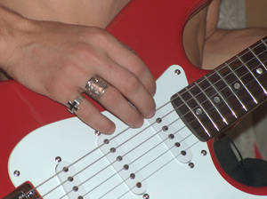 Red Guitar.