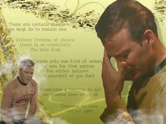 Star Trek- Kirk and His Words by schematization