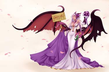 [Commission] Jabberwock Bride by mogucho