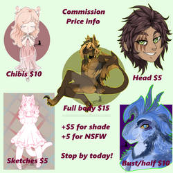 Commissions open! 10/10