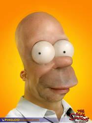 Homer Untooned by pixeloo
