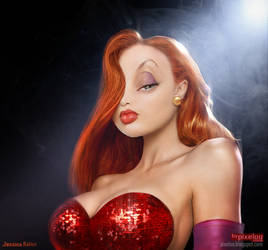 Jessica Rabbit Untooned