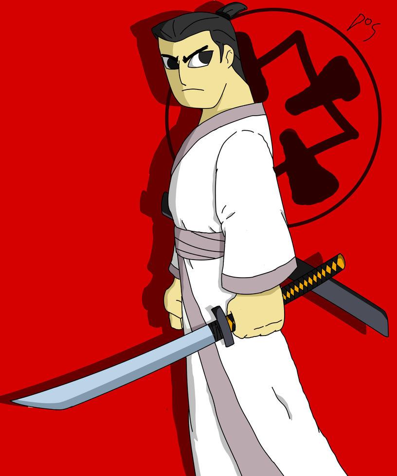 Samurai Jack by BlaK-ManGA-DOS