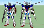 Impulse and Force Impulse Gundam