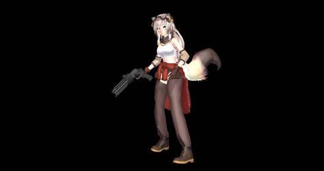 Lily The Mechanic Goliath Handgun by deviantoptimus