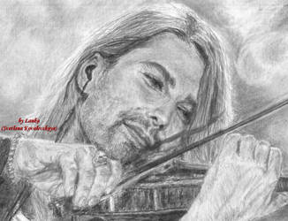 David Garrett close-up