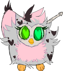 [OPEN] leopard furby adopt