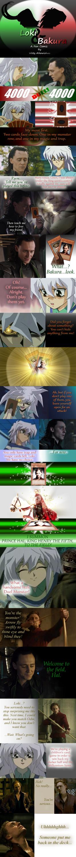 Loki and Bakura XXXVII - Let the Duel Begin by Loki-Bakura