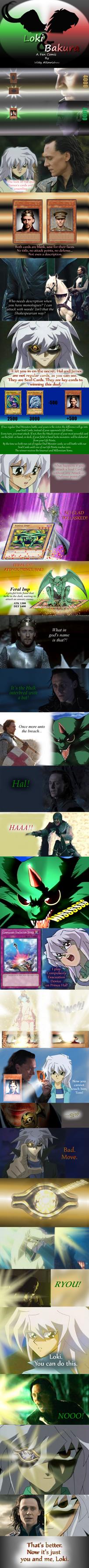 Loki and Bakura XXXVIII - Ryou by Loki-Bakura