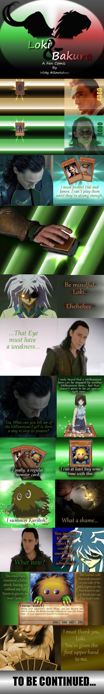 Loki and Bakura XL - The Upper Hand by Loki-Bakura