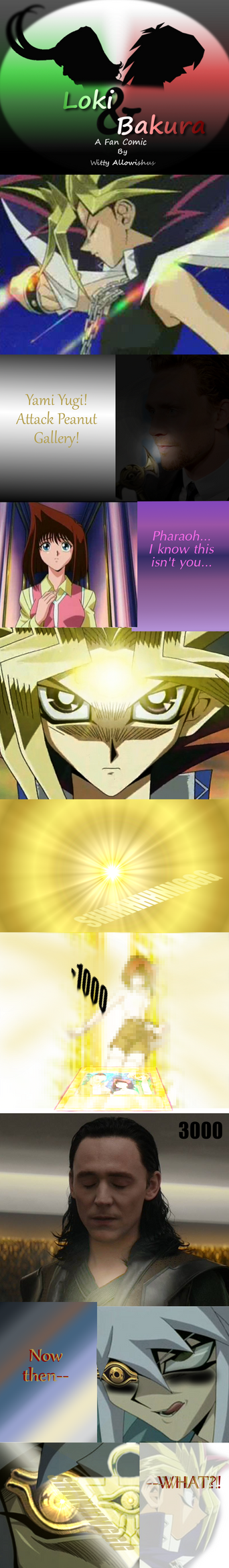 Loki and Bakura XLII - Yami Yugi Summoned by Loki-Bakura