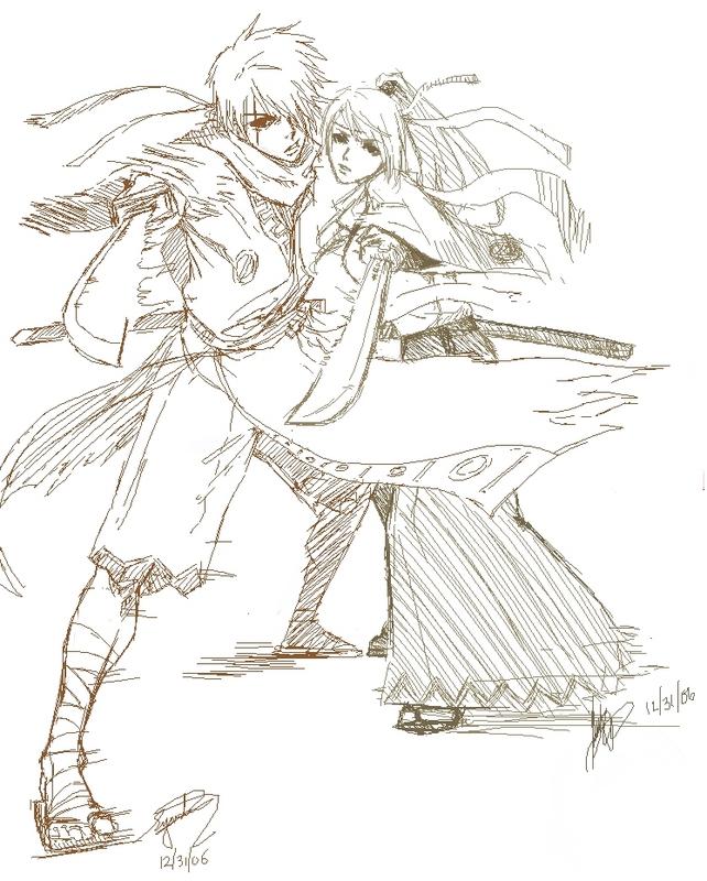 +Samurai+ by Orenji-kun