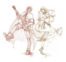 +Bard x Dancer+