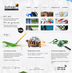 Soft-lab.net - main page by Wolchara