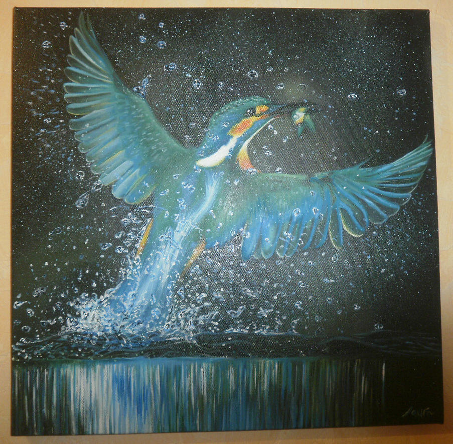 Kingfisher by sakurapink95