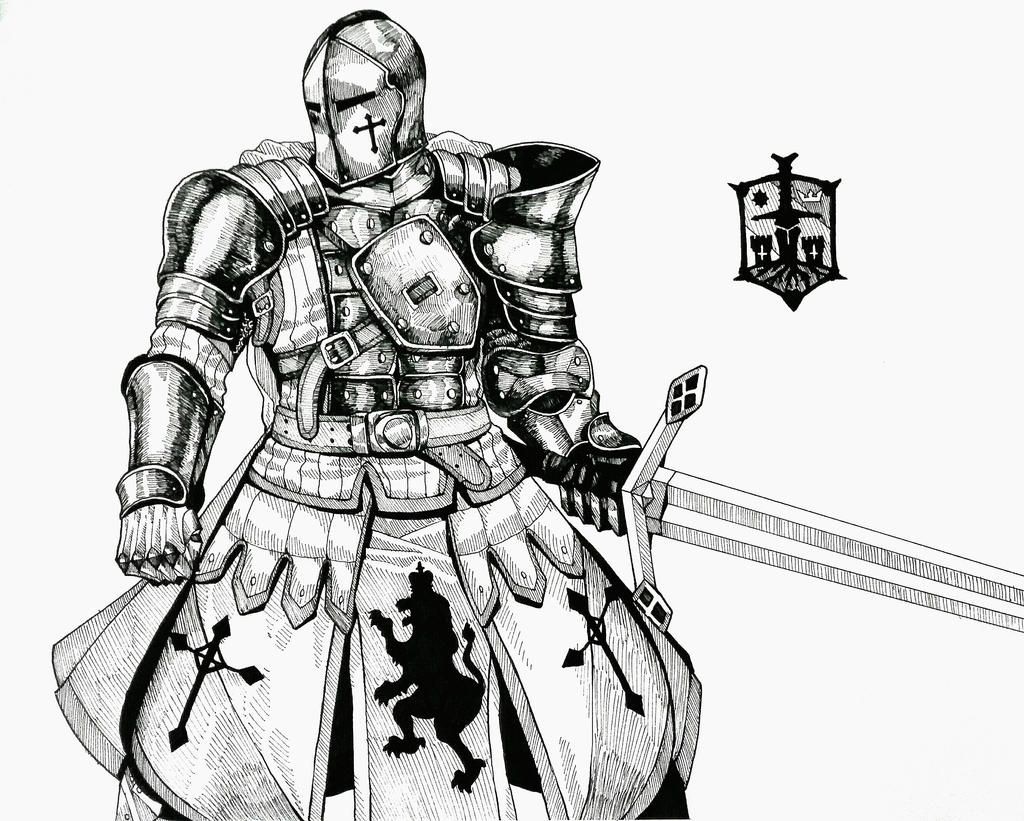 for honor how to draw centurion