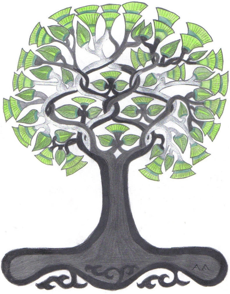 mandala Lifetree by falatka