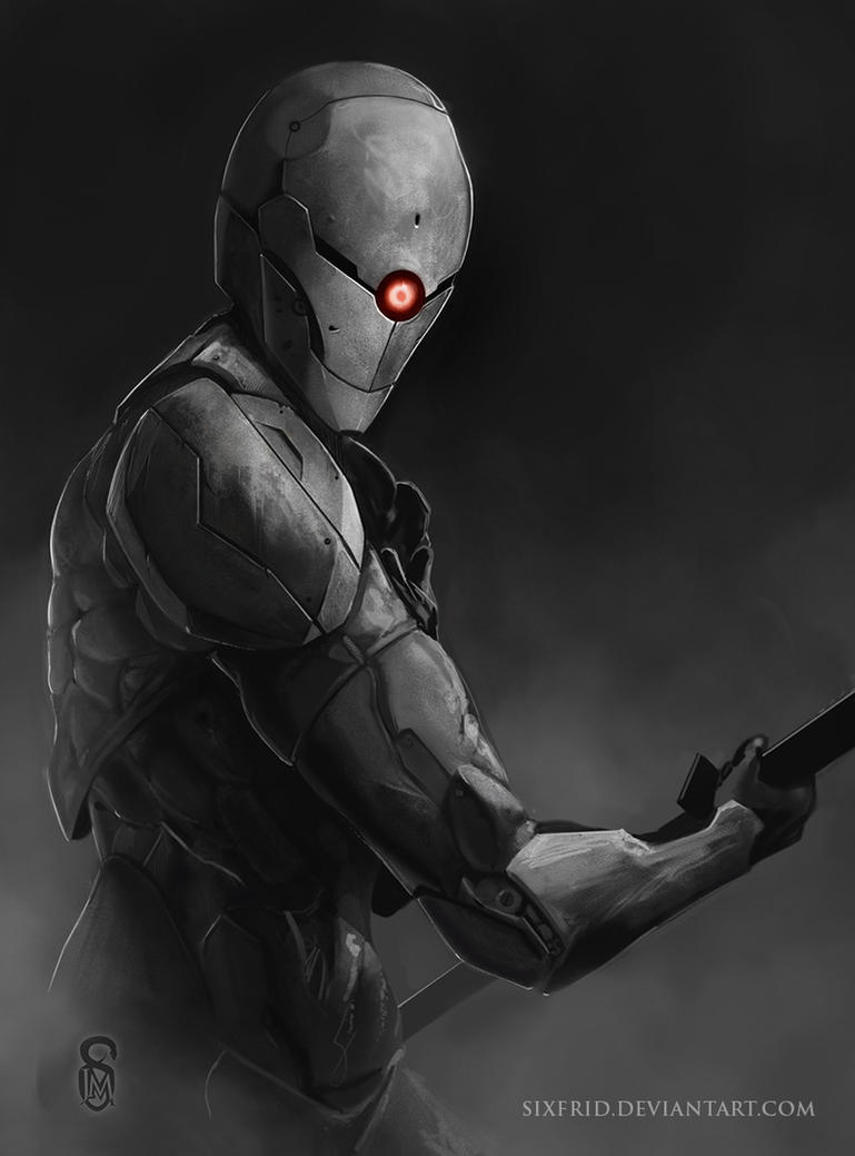 Gray Fox by sixfrid