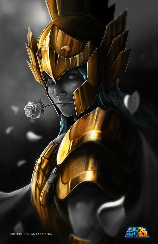 Piscis Gold Saint by sixfrid