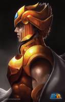 Leo Gold Saint by sixfrid