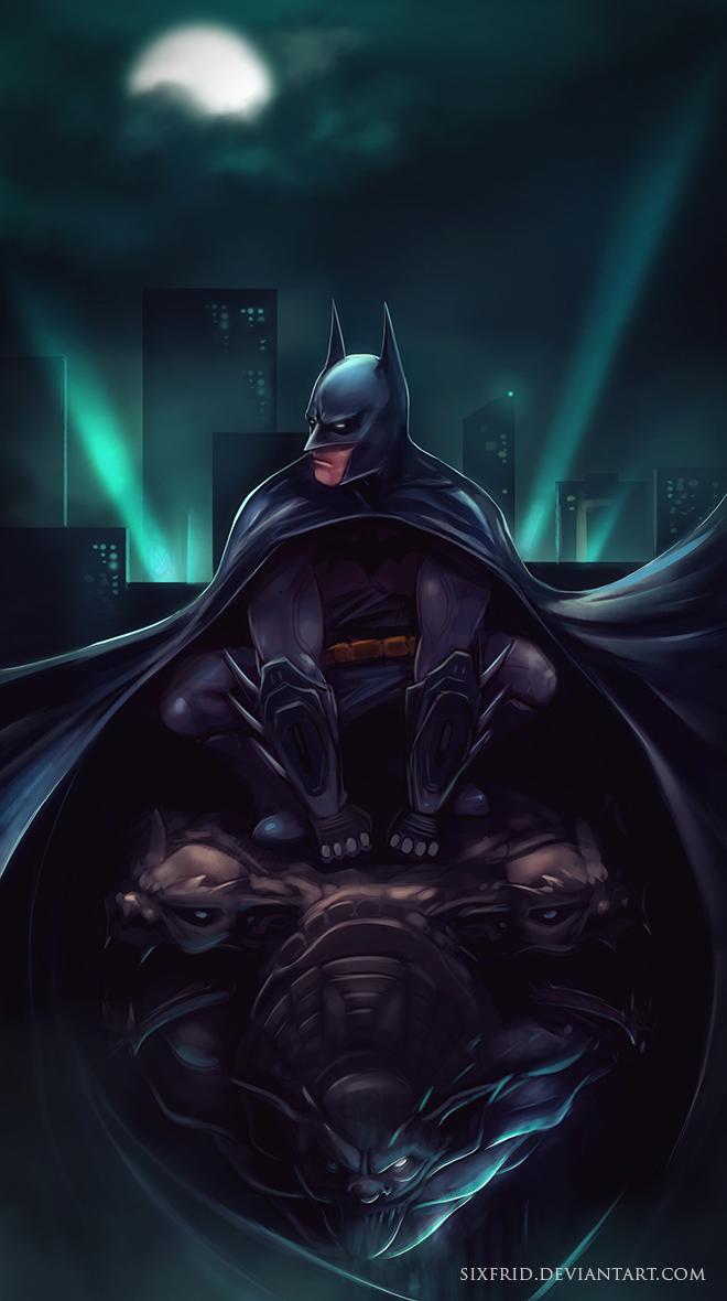Batman by sixfrid