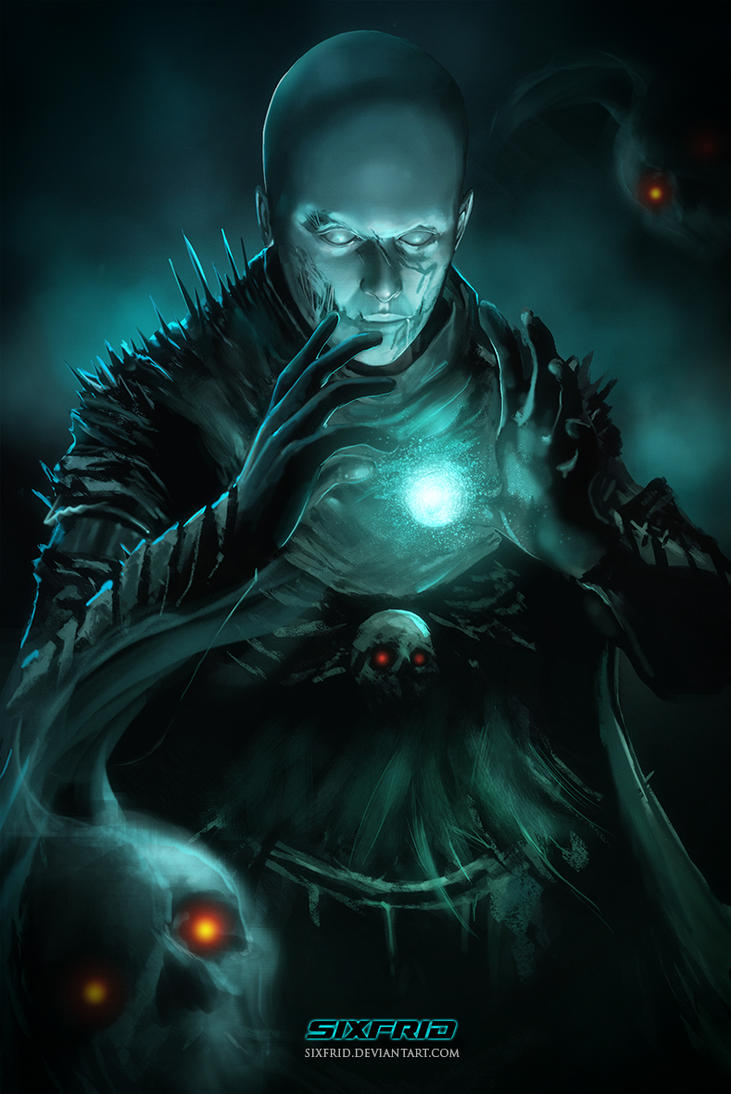 necromancer by sixfrid on deviantart