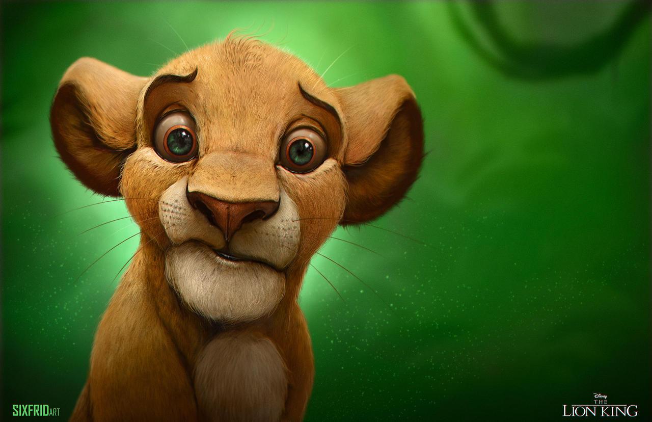 Simba by sixfrid