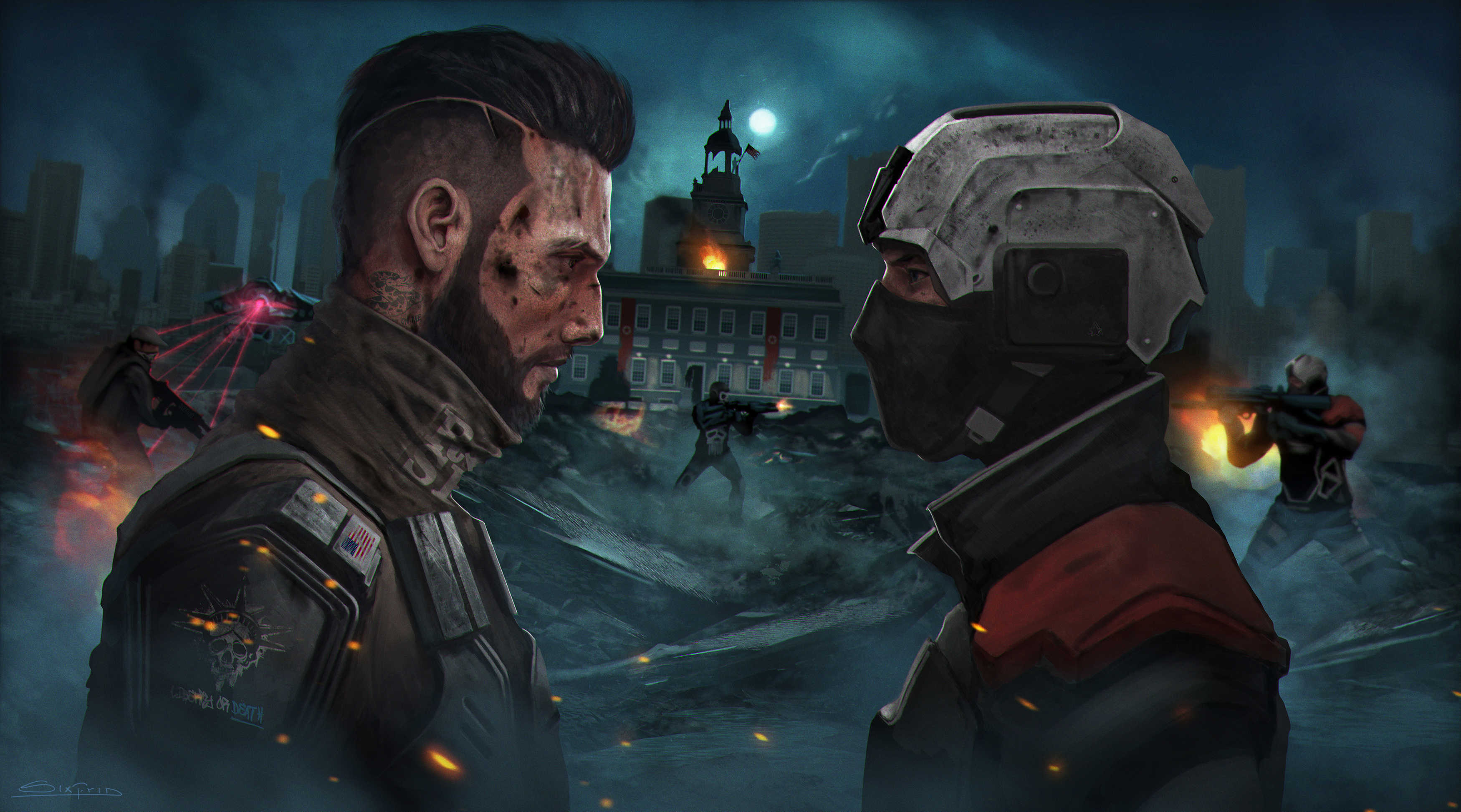 Homefront Contest - Liberty or death by sixfrid