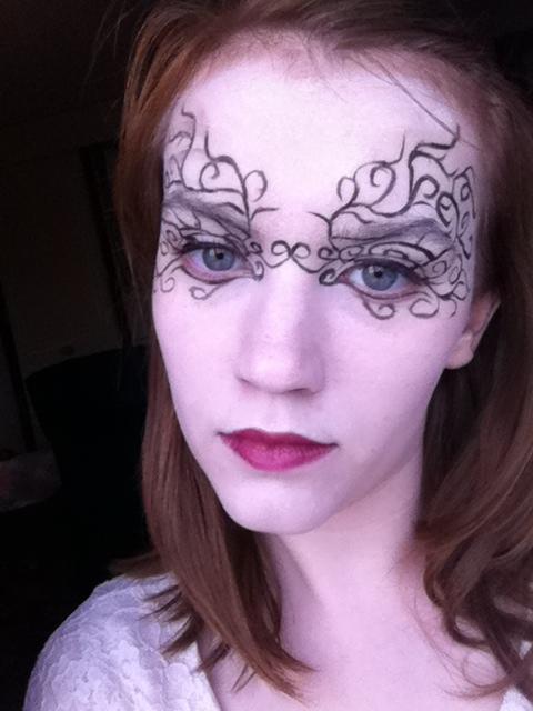 Masquerade Make Up by SophieReddyArt