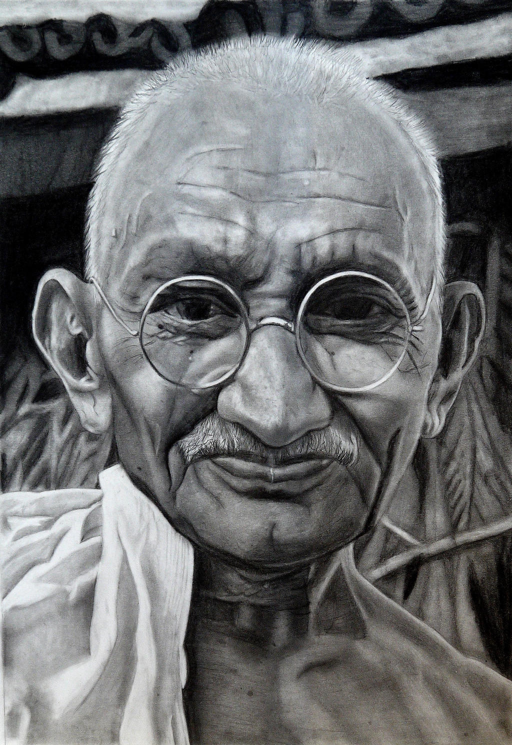 Gandhi by SophieReddyArt