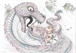 Tom Goldtuft vs the Serpent of Treason River by JackOrJohn